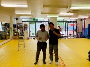 今日は、京都の山本さんの所に訪問しました。